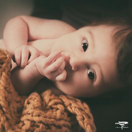 La prima settimana di vita bambini - FotoArt Lucca