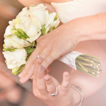 I dettagli di matrimonio le fedi - FotoArt Lucca