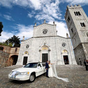 Limousine per matrimonio wedding car - FotoArt Lucca